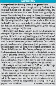 Artikel Maas en Niersbode 4 feb 2015